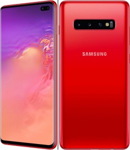 SAMSUNG GALAXY S10+ G975F/DS 8/128GB DUAL SIM CARDINAL RED