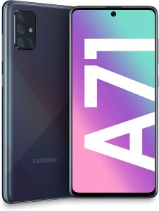 SAMSUNG GALAXY A71 A715F/DS 6/128GB DUAL SIM PRISM CRUSH BLACK