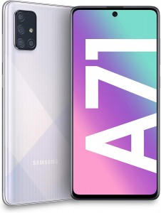 SAMSUNG GALAXY A71 A715F/DS 6/128GB DUAL SIM PRISM CRUSH SILVER