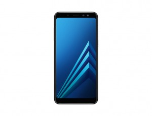 SAMSUNG GALAXY A8 2018 A530F/DS 4/32GB IP68 DUAL SIM BLACK