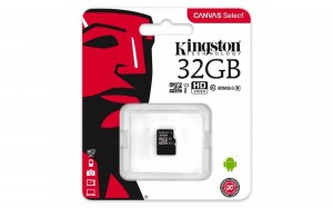 KARTA PAMIĘCI KINGSTON Canvas Select microSDHC 32GB