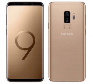 SAMSUNG GALAXY S9+ G965F/DS 6/64GB DUAL SIM SUNRISE GOLD