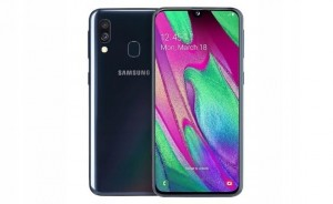 SAMSUNG GALAXY A40 A405FN/DS 4/64GB DUAL SIM BLACK