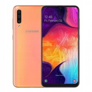 SAMSUNG GALAXY A50 A505FN/DS 4/128GB DUALSIM CORAL / ORANGE